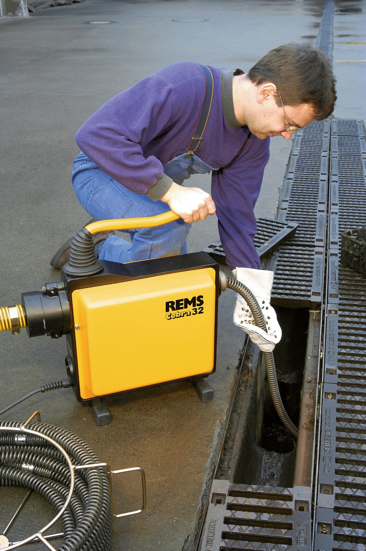 Električni stroj za čišćenje cijevi REMS Cobra