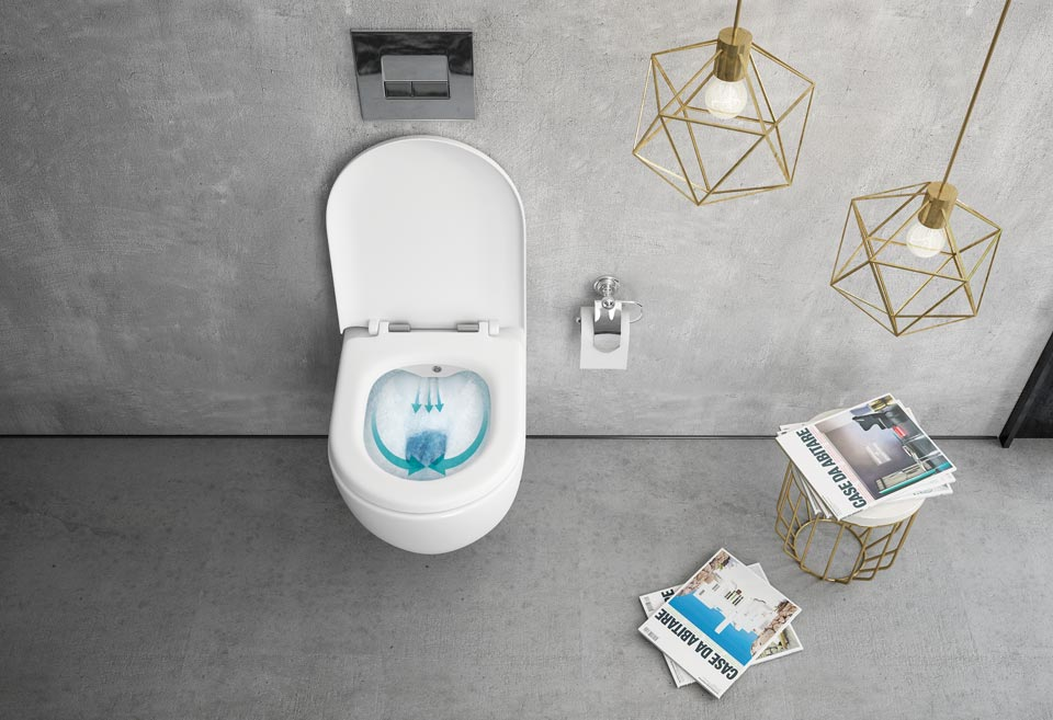 WC školjka bez ruba (Rimless)
